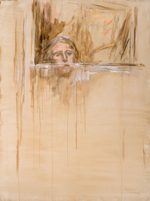 Portrait in the Back Door by Miriam McClung