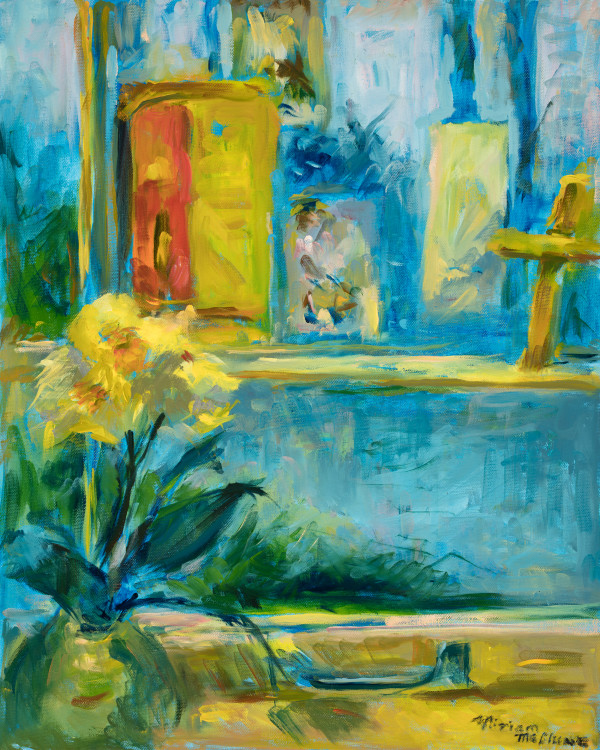 Daffodils by the Window by Miriam McClung