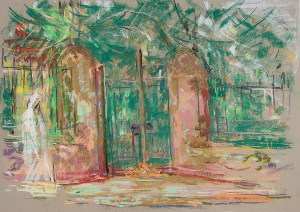 The Gates at the Garden of Gethsemane by Miriam McClung