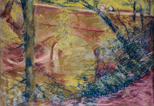 The Bridge on the Mountain Brook Parkway by Miriam McClung