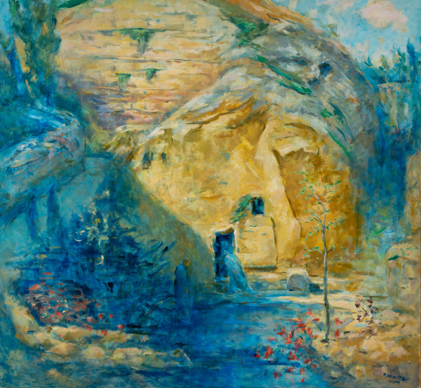 Mary at the Tomb by Miriam McClung