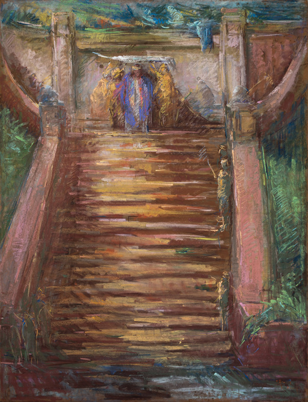 Christ Scourged and Crowned by Miriam McClung