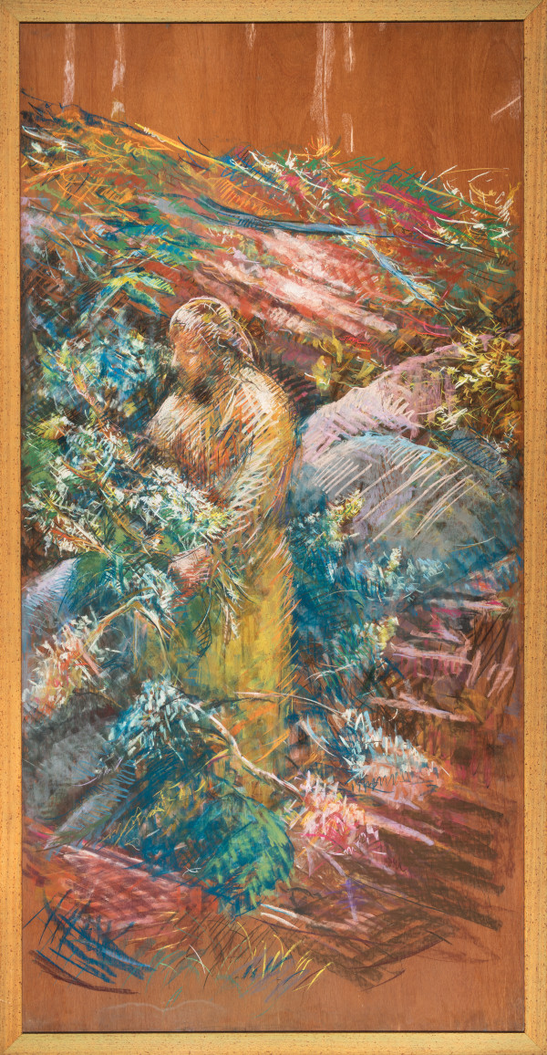 The Gardener (Panel 2) by Miriam McClung