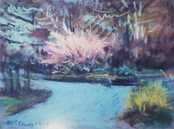 Looking Toward the Fork of Canterbury and Surrey Road by Miriam McClung