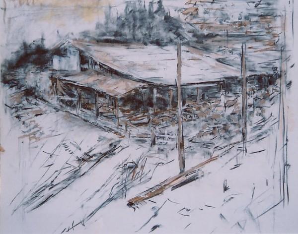 Sheepfold by Miriam McClung