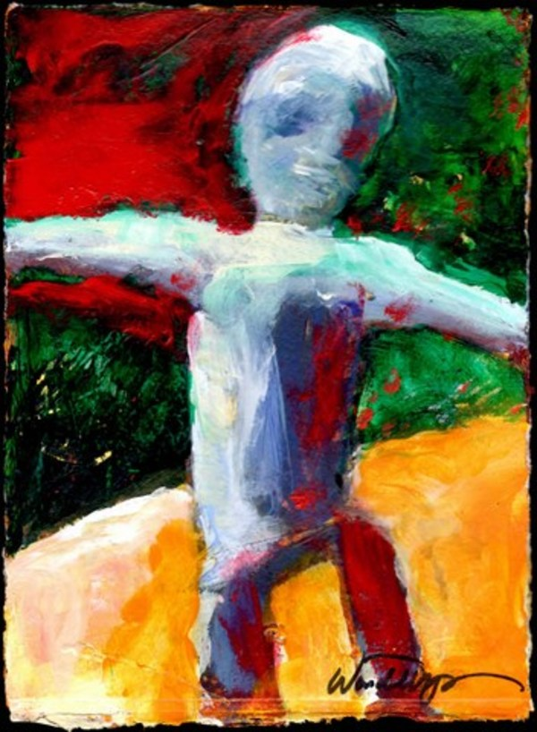 Dancing Figure by Wendell Myers