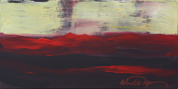 Flight over Red #1 by Wendell Myers