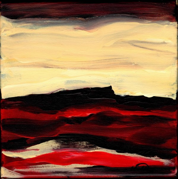 Red Vista #2 by Wendell Myers