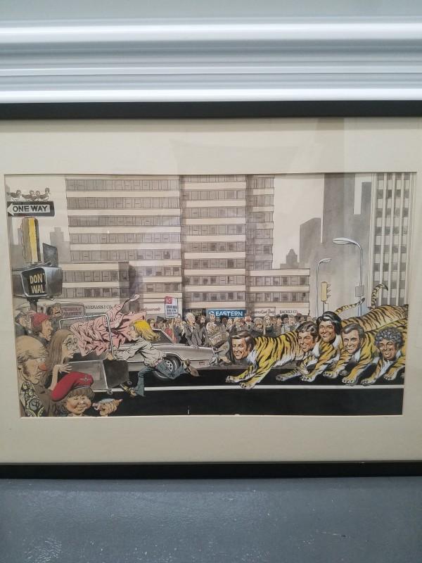 Trade Ad illustration by George Woodbridge
