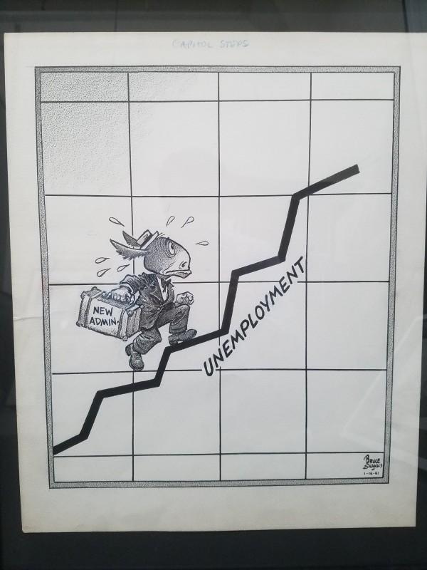 Editorial Cartoon (1961) by Bruce Shanks