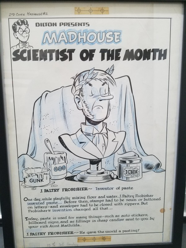 Archies Madhouse - inside cover