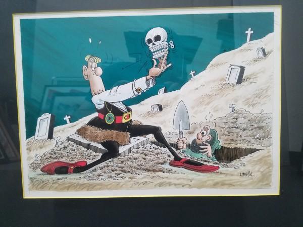 Hamlet - bonus from Mad Super Special #17 (1975) by Don Martin