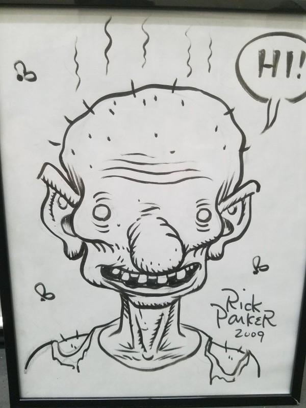 Deadboy sketch (2009) by Rick Parker