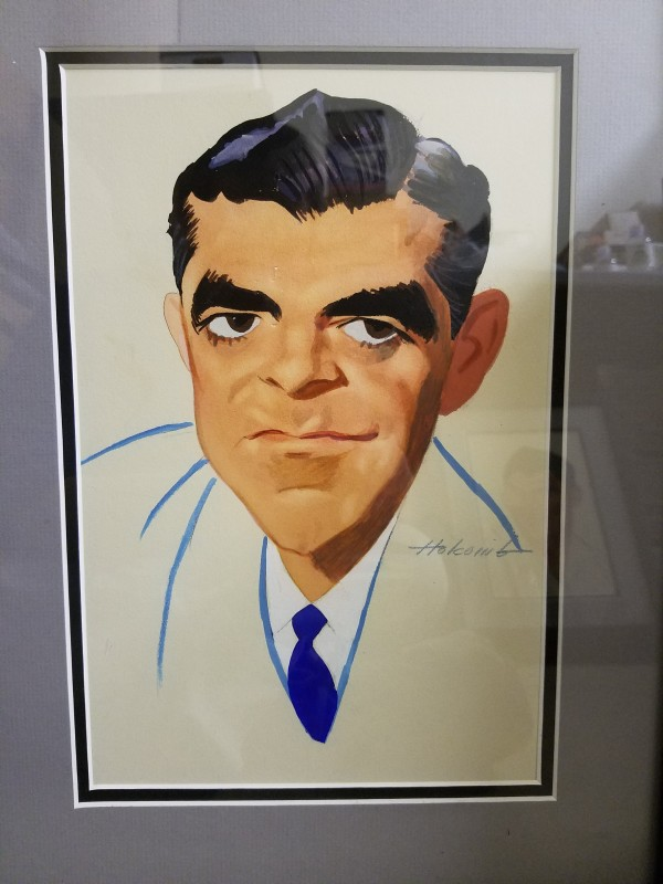 Dana Andrews by Dal  Holcomb