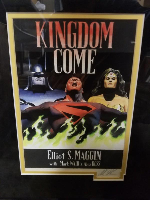 Kingdom Come hardcover - prelim artwork by Alex Ross