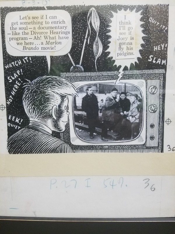 "Goodman Beaver - Help Magazine ""Goodman gets a Gun"" (1962) by Harvey Kurtzman & Will Elder"