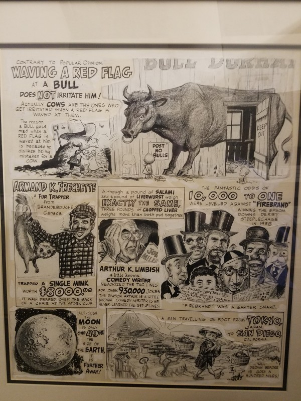 Strangely Believe It  - Mad #38 by Wally Wood