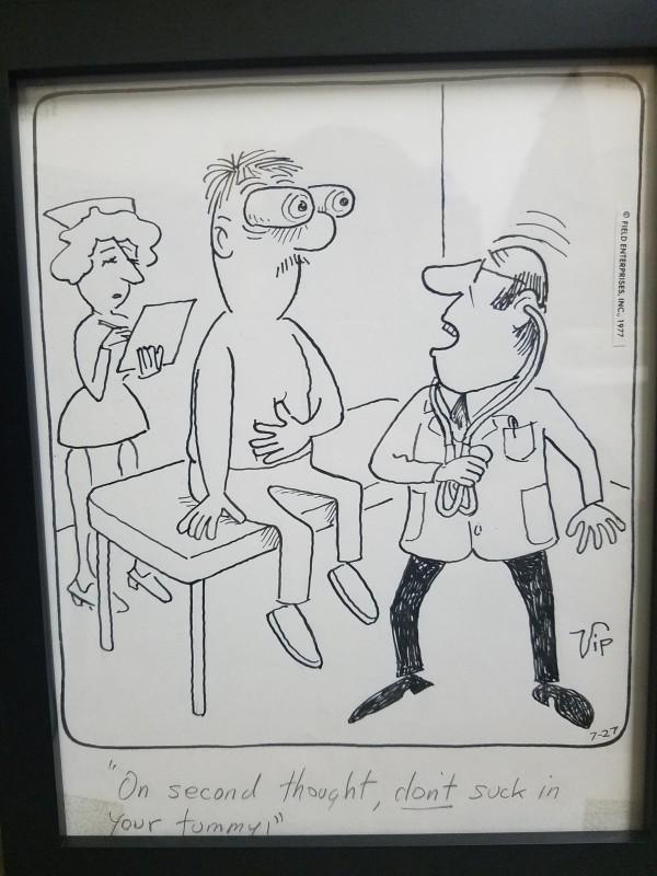 """Big George"" panel by Virgil Partch"