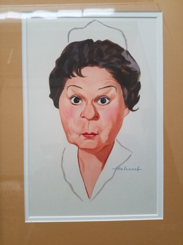 Shirley Booth by Dal  Holcomb