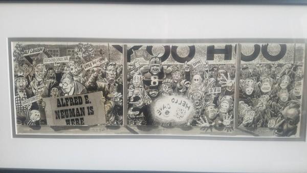 Dave Garrowrunway Show -  Mad #26 (1955) by Jack  Davis