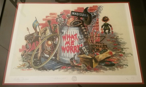 More Trash From Mad #1 - s/n remarqued  litho by Kelly Freas