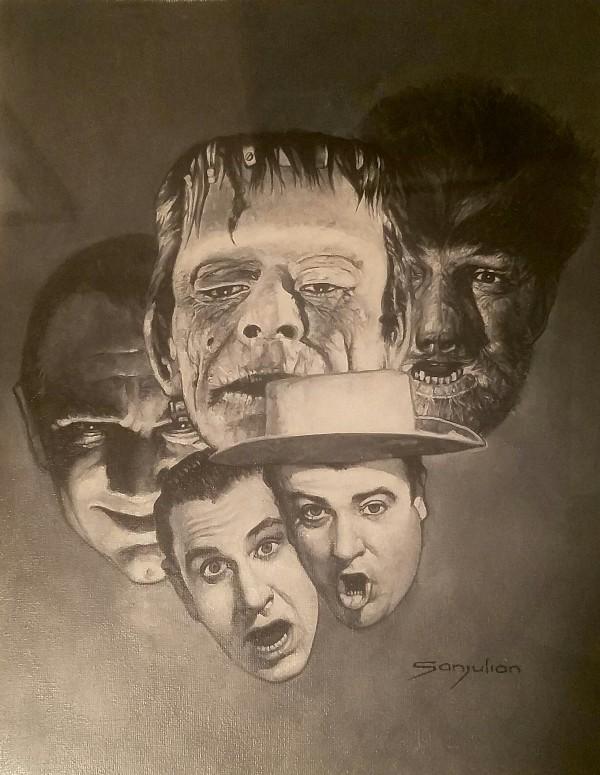 Abbott & Costello Meet Frankenstein by Manuel Sanjulian