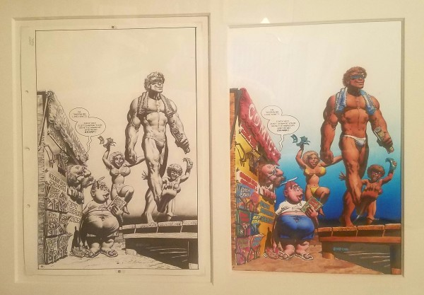 Snarf #12 cover by Richard Corben