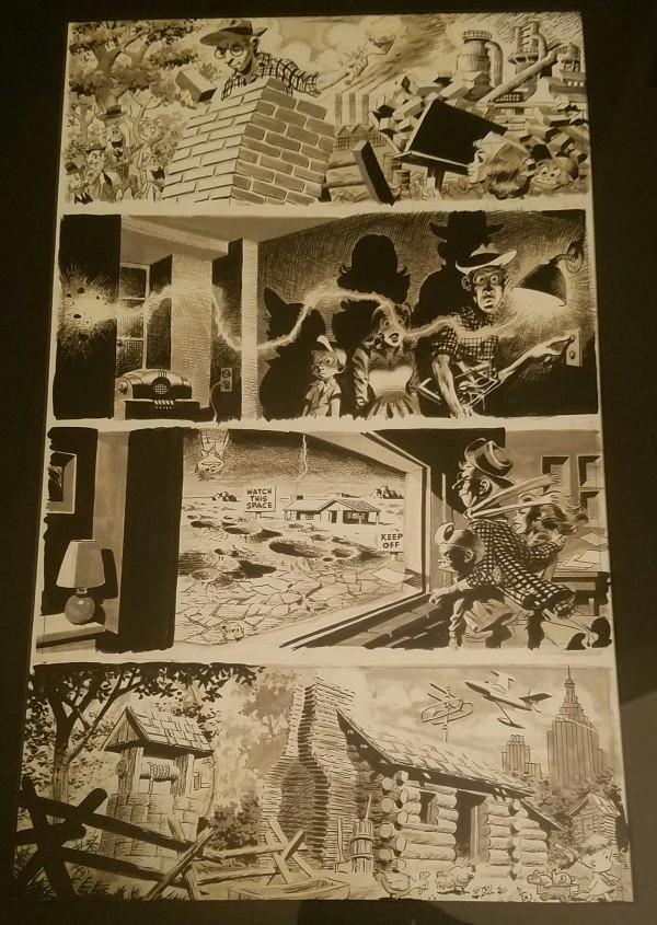 """MAD #25 """"They Built Their Dream-House Singlehanded"""" by Wally Wood"""