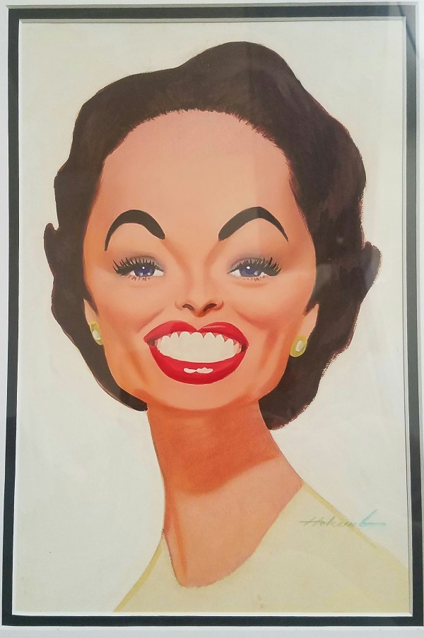 Dorothy Kilgallen by Dal  Holcomb