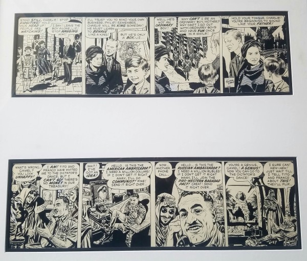 Comic Strip Heroes Taken from Real Life - Mad#48 (1959) by Wally Wood