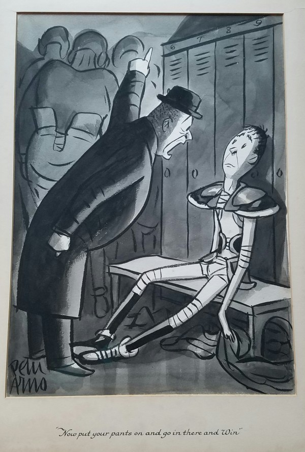 New Yorker cartoon (1937) by Peter Arno