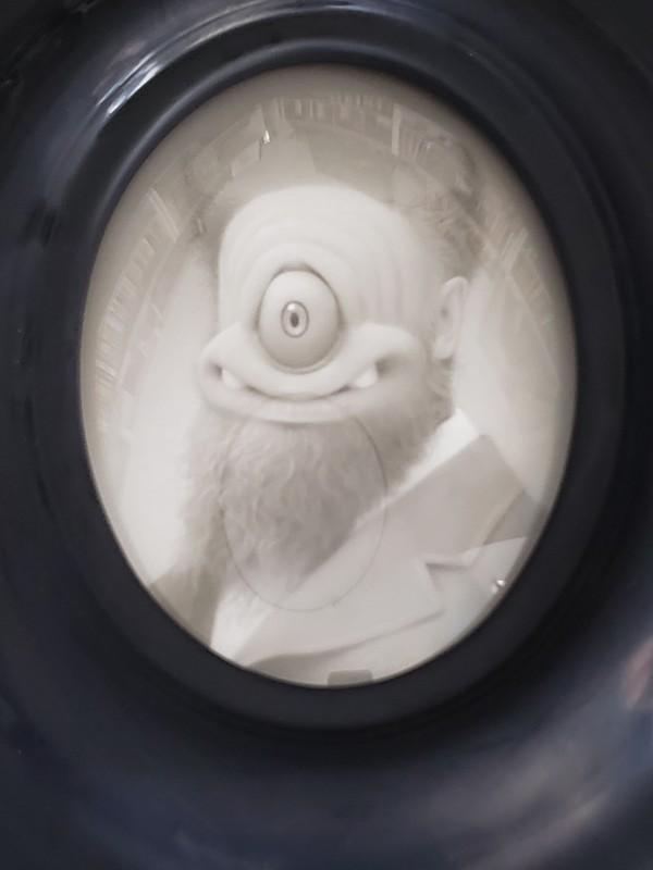 The Bearded Cyclops by Travis Louie