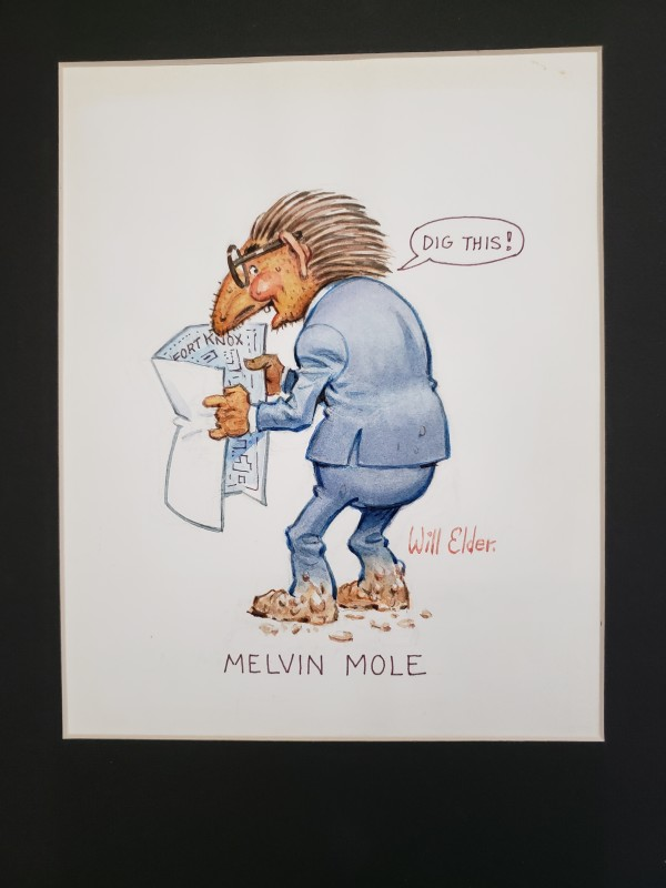 """Melvin Mole """"Dig This"""" by Will Elder"""