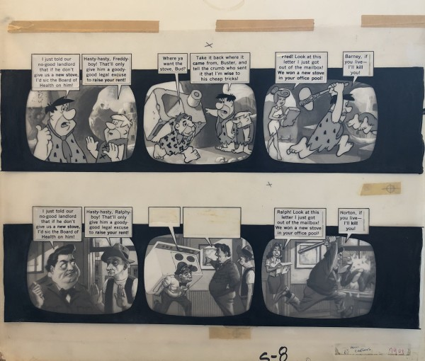 """Wally Wood MAD #63 Complete 3-Page story """"Adult cartoon"""" by Wally Wood"""