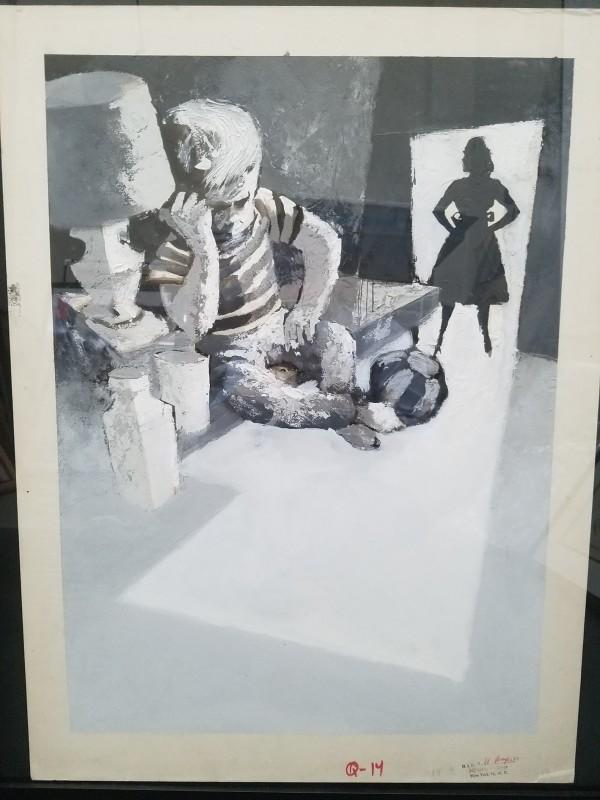 PLAYKID magazine illustration - Mad #61 (1961) by Bob Clarke