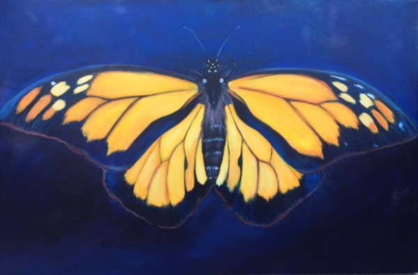Monarch Study by Tabitha Benedict