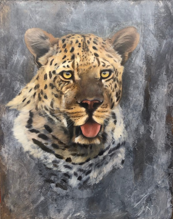 Male Leopard by Tabitha Benedict