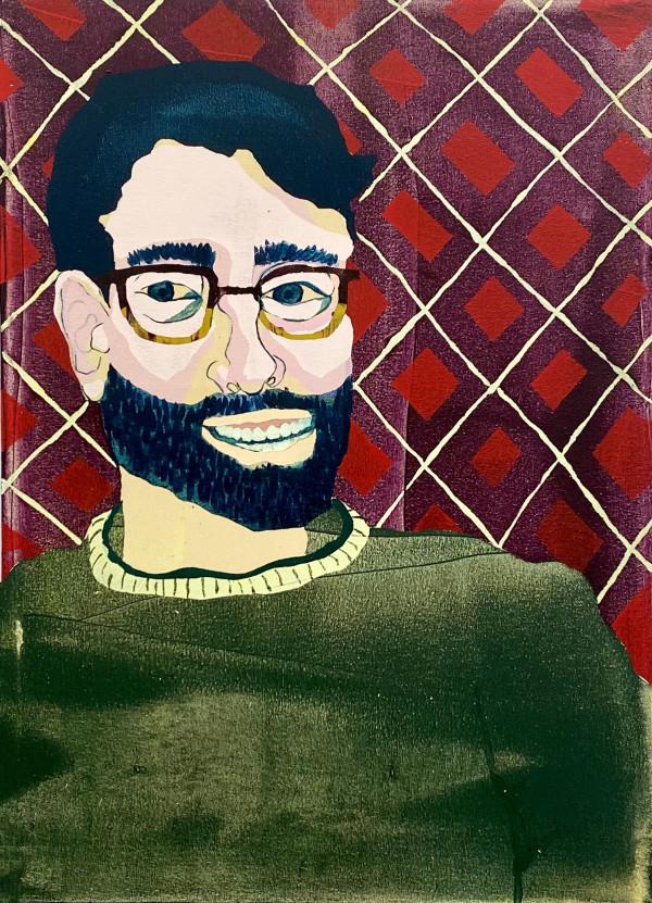 Portrait of John Sillings by Mel Reese