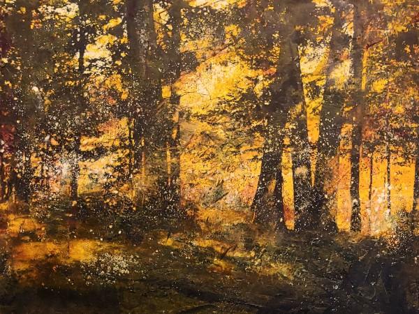 Evening Glow by Mary Mendla
