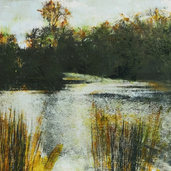 River Scene by Mary Mendla