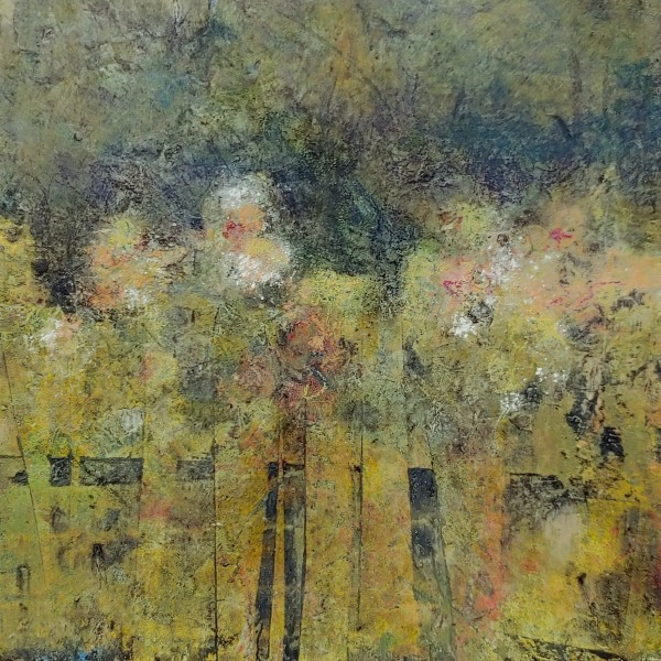 Along the Fence by Mary Mendla