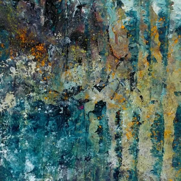 Aspen Creek by Mary Mendla