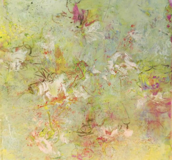Flowers in the Breeze by Mary Mendla