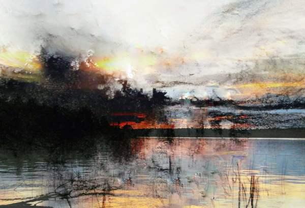 Dawn on Fire by Mary Mendla