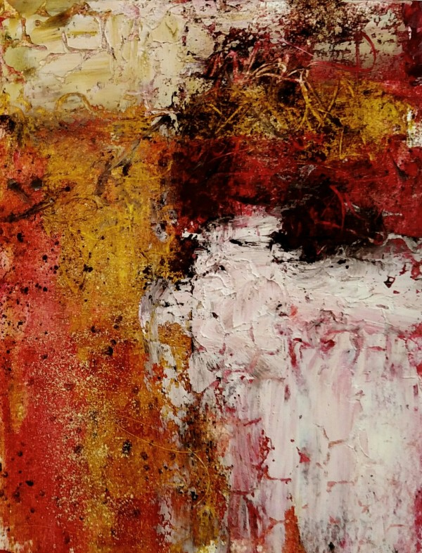 Study in Red, II by Mary Mendla