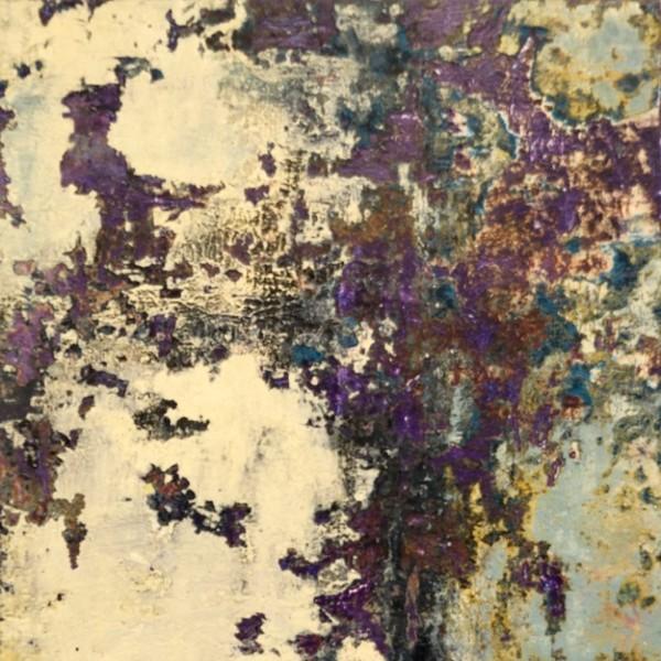 Snow Violets by Mary Mendla