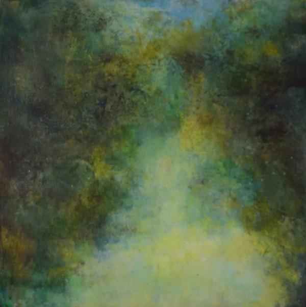 Yellow River Falls by Mary Mendla
