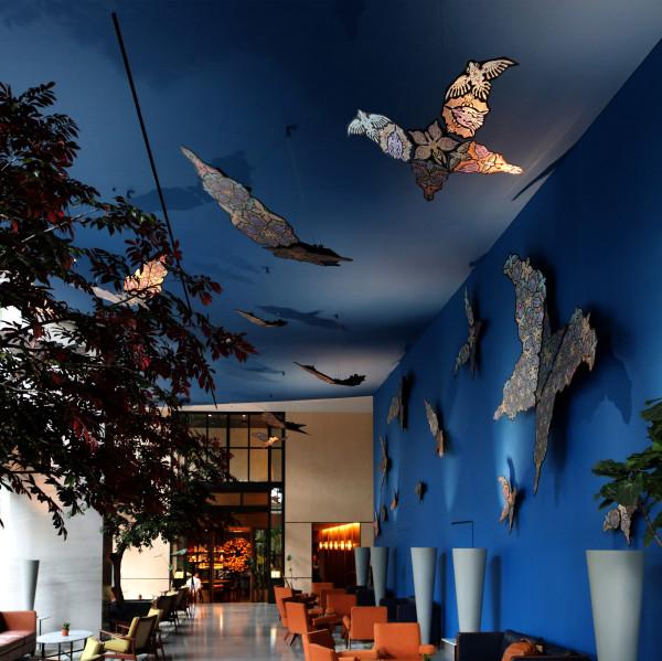Bats, Birds and Butterflies I by Richard Hassell
