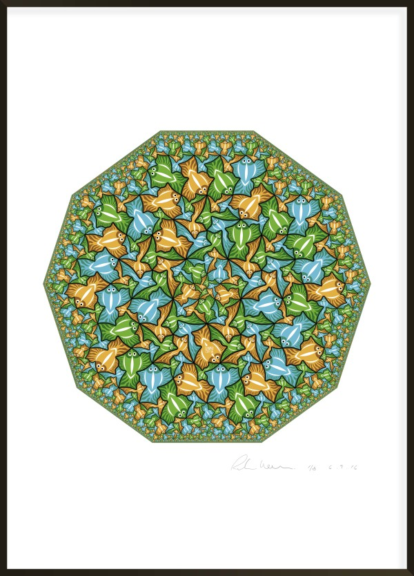 Decagonal Limit I #3 of 8 by Richard Hassell