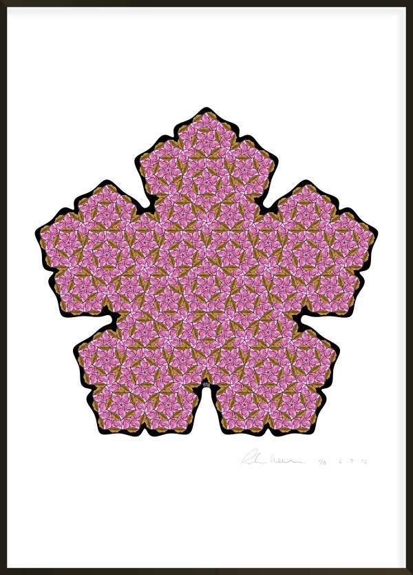 Pen-Rose Tiling I #3 of 8 by Richard Hassell